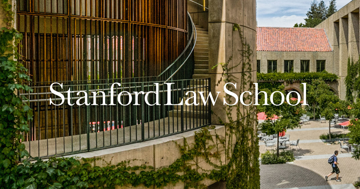 CodeX Meeting: Oct. 10 | Stanford Law School